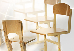 Гнутоклееная заготовка для стула ученического