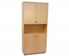 Шкаф для документов 4-х дверный с нишей