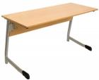 Стол ученический двухместный