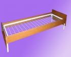 Кровать метал., сетка с ячейкой 70*100, с царгами