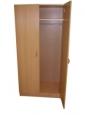 Шкаф для одежды двустворчатый