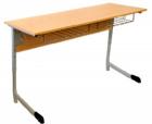 Стол ученический двухместный регулируемая высота