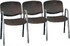 Блок стульев – тройка (с подлокотниками) РС05х3