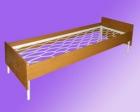 Кровать метал., сетка прокатная пружина, с цагами